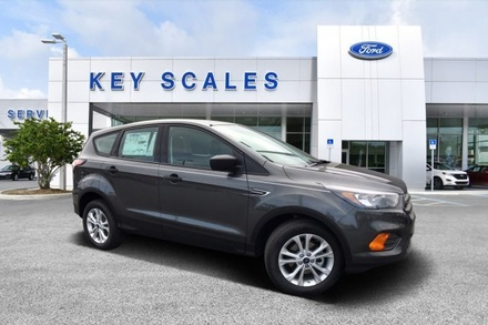 Metallic Charcoal Gray Ford Escape S 4WD SUV