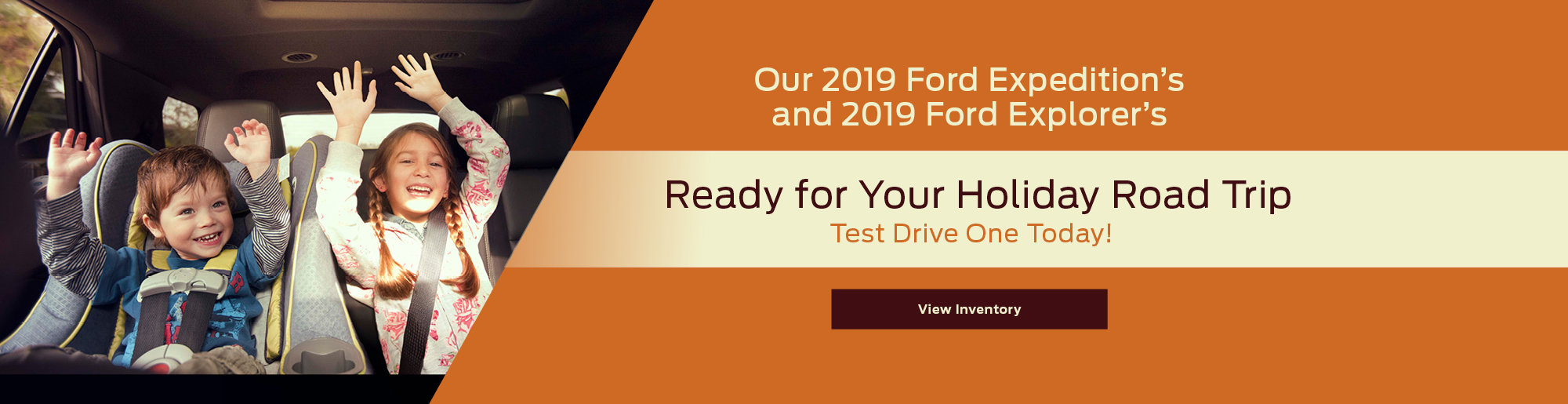 Banner Image For 2019 Ford Expedition And Explorer In Stock