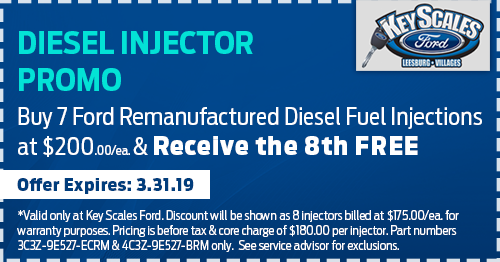 Coupon for Diesel Injector Promo Buy 7 and get the 8th Free