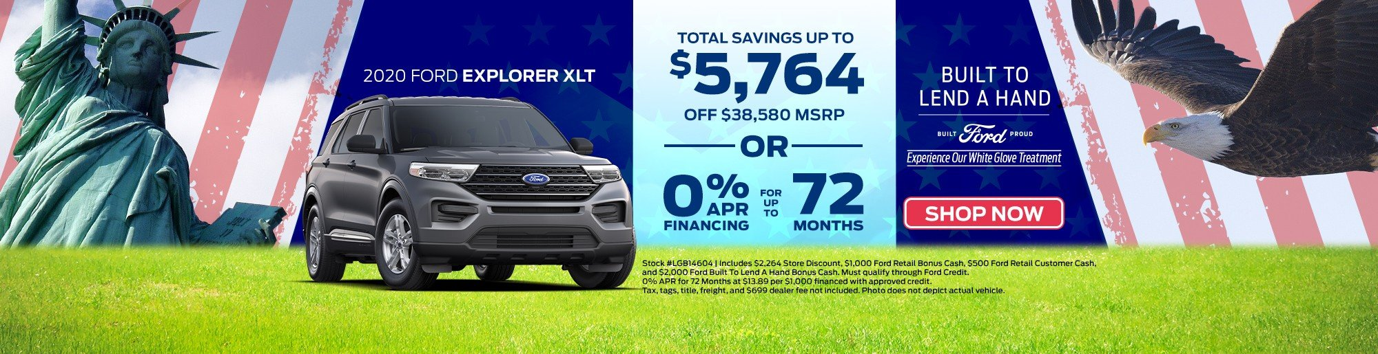 Save new Ford Explorer Key Scales Ford Leesburg, FL
