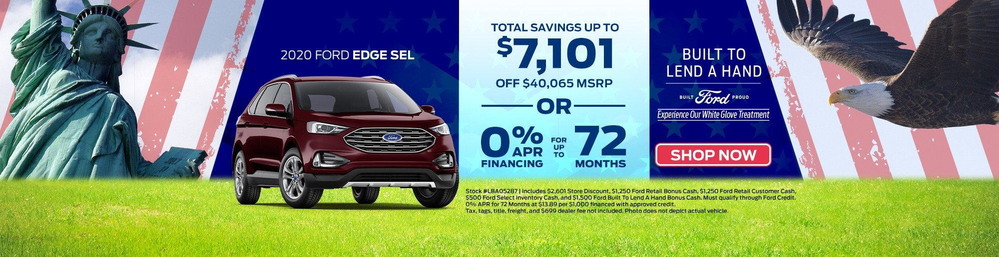 Save new Ford Edge Key Scales Ford Leesburg, FL