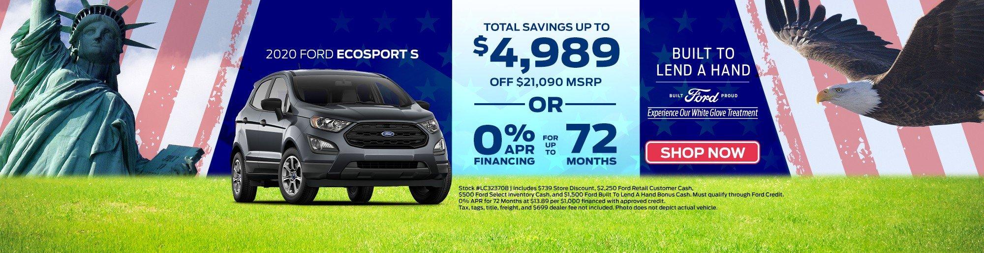 Sale Price Ecosport Leesburg, FL Key Scales Ford