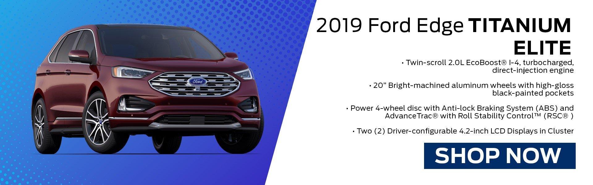 2019 Ford Edge Titanium Elite