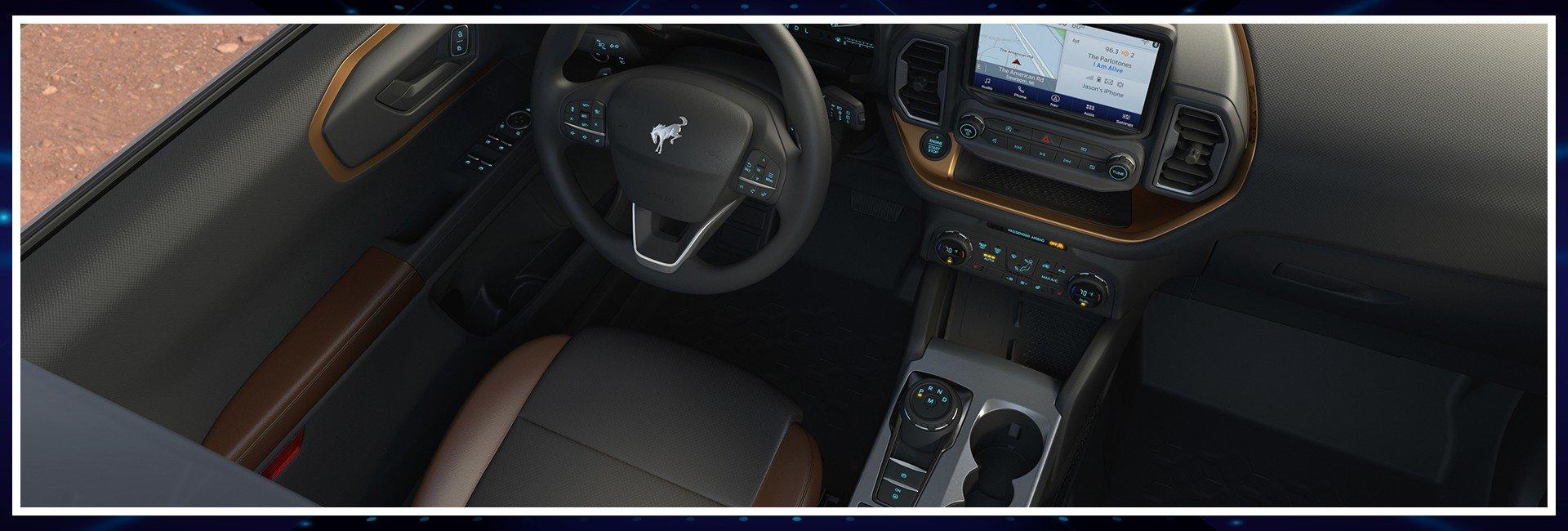 2021 Ford Bronco interor
