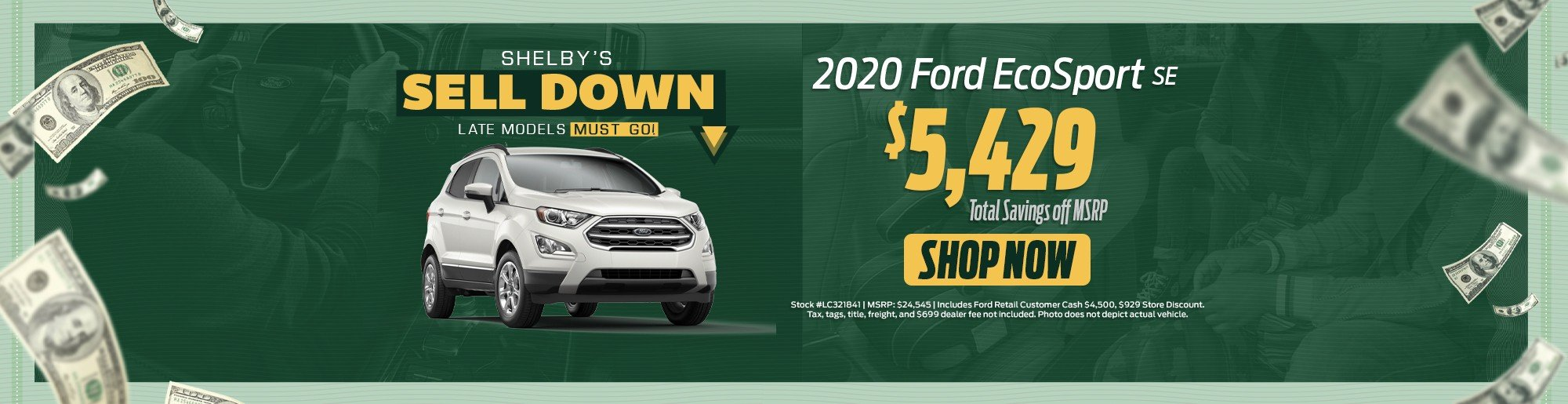 Ford EcoSport deals near me, Key scales FL