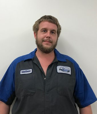 Diesel Technician Matthew Burghardt in Service Team at Key Scales Ford