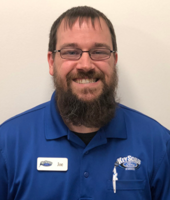 Assistant Parts Manager Joe Rongholt in Parts Team at Key Scales Ford