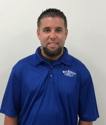 Service Advisor Matt Moyer in Service Team at Key Scales Ford