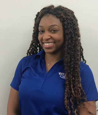 Vehicle Specialist Lakira Kiner in Sales Team at Key Scales Ford