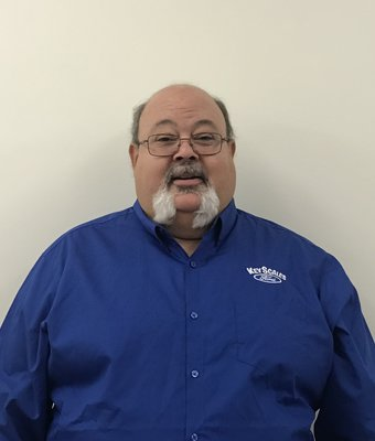 Parts Manager Mike Gelineau in Parts Team at Key Scales Ford
