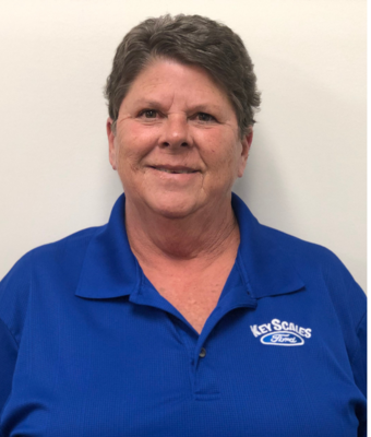 Accounting Clerk Belinda Greer in Administration at Key Scales Ford