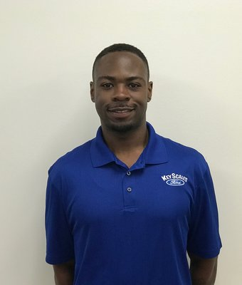 Vehicle Specialist Terrell McCoy in Sales Team at Key Scales Ford
