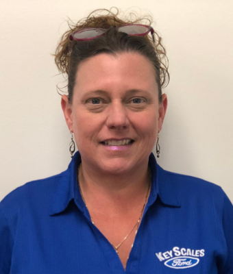 Office Manager Lisa Hines in Administration at Key Scales Ford