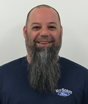 Senior Master Technician Kevin Mazzarelli in Service Team at Key Scales Ford