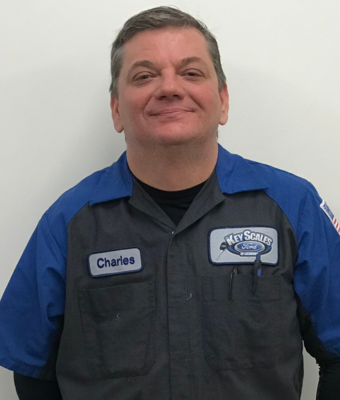 Technician Charles Ray in Service Team at Key Scales Ford