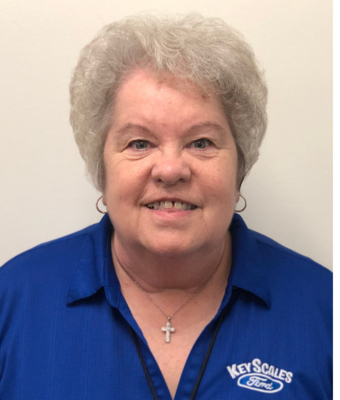 Accounting Clerk Shirley Williams in Administration at Key Scales Ford