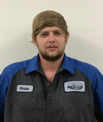 Technician Shade Wery in Service Team at Key Scales Ford