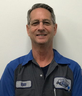 Technician Bill Coldwell in Service Team at Key Scales Ford