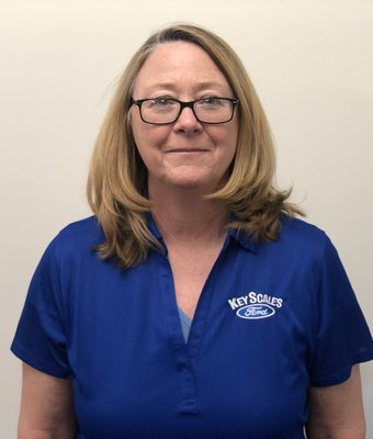 Warranty & Accounting Clerk Marianne Gay in Administration at Key Scales Ford