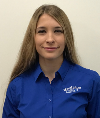 Vehicle Specialist Pinuccia Viola in Sales Team at Key Scales Ford