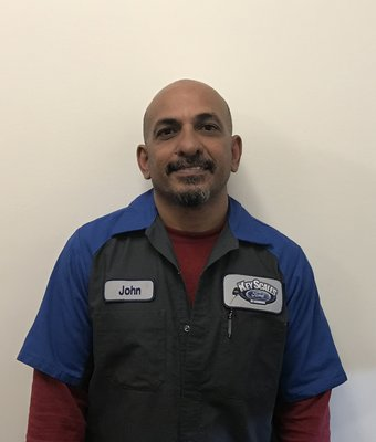 Technician John Ramjas in Service Team at Key Scales Ford