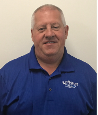 Vehicle Specialist Rich Rysell in Sales Team at Key Scales Ford