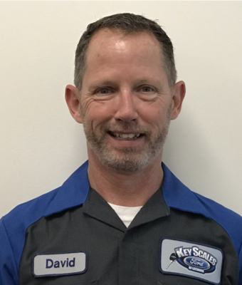 Technician David Duff in Service Team at Key Scales Ford
