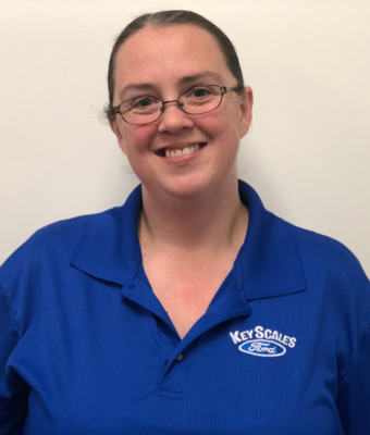 Parts Specialist Christy Carpenter in Parts Team at Key Scales Ford