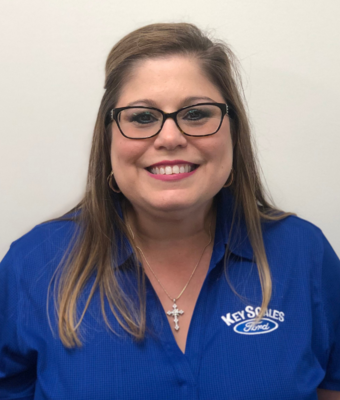 General Manager/COO Lenore Spencer in Executive Management Team at Key Scales Ford