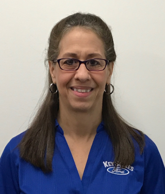 Cashier Brenda LoPriore in Administration at Key Scales Ford