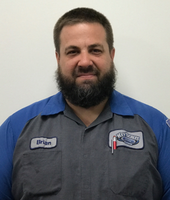 Senior Master Technician/Shop Foreman Brian Kubis in Service Team at Key Scales Ford