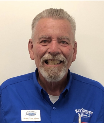 Vehicle Specialist Stan Reynolds in Sales Team at Key Scales Ford