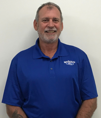 Vehicle Specialist Robert Baptiste in Sales Team at Key Scales Ford