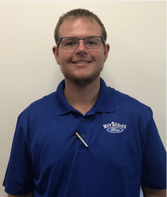 Parts Specialist Chris Bohn in Parts Team at Key Scales Ford