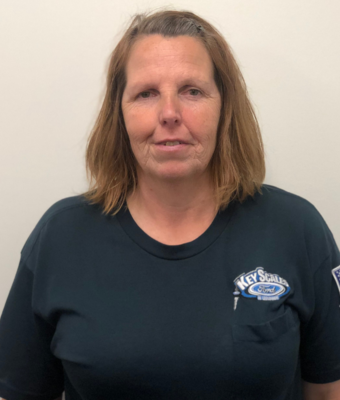 Detail Specialist Diane Ricklefs in Service Team at Key Scales Ford