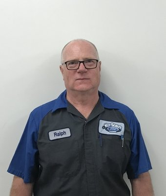 Technician Ralph Bushnell in Service Team at Key Scales Ford