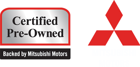 Mitsubishi Certified Pre-Owned Badge