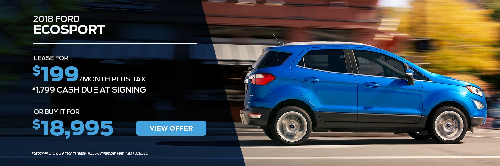 2018 Ford EcoSport for Sale