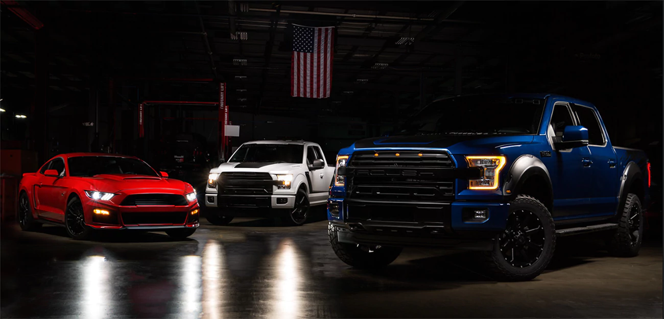 Roush performance lineup