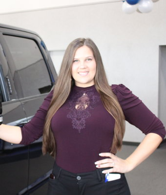 Sales Ashlee Taylor in Staff at Shottenkirk Ford Jasper