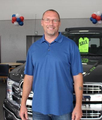 Sales David Hall in Staff at Shottenkirk Ford Jasper