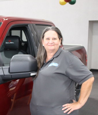 Parts Driver Janice Folks in Staff at Shottenkirk Ford Jasper