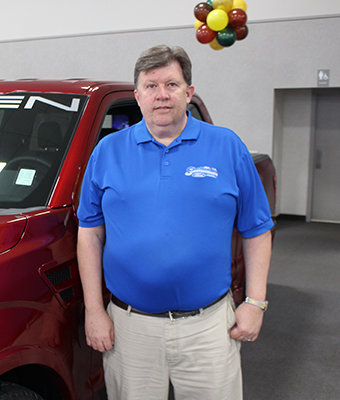 Parts Manager George Perkins in Staff at Shottenkirk Ford Jasper