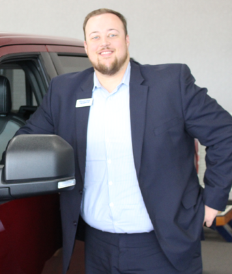 Finance Manager Noah Woodard in Staff at Shottenkirk Ford Jasper