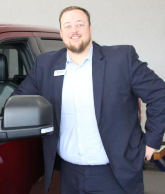 Finance Manager Noah Woodard in Staff at Shottenkirk Ford Jasper
