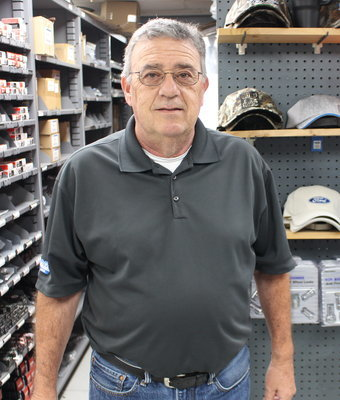 Parts Counter Tony Borzillo in Staff at Shottenkirk Ford Jasper