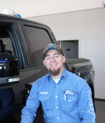 Sales AJ Zender in Staff at Shottenkirk Ford Jasper