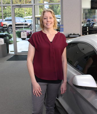Receptionist Laura Picel in Staff at Shottenkirk Ford Jasper