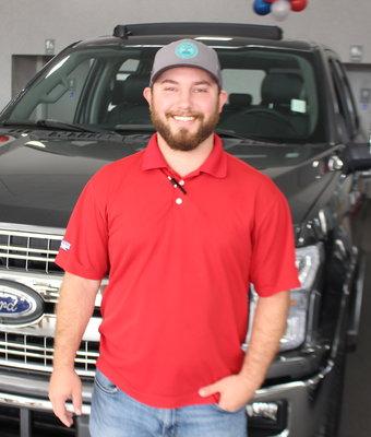 Sales Austin Atkins in Staff at Shottenkirk Ford Jasper