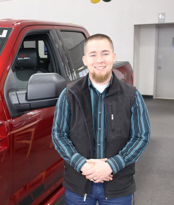 Sales AJ Zender in Staff at Shottenkirk Ford Jasper